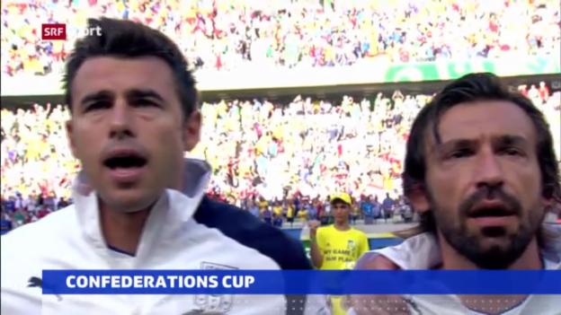 Video «Italien ohne Pirlo und Barzagli im Spiel um Platz 3 («sportakuell»)» abspielen