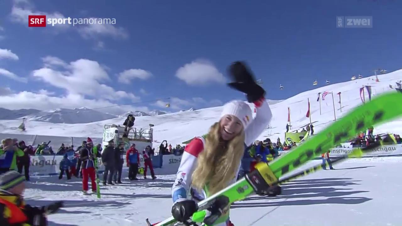 Skicrosserin Smith landet auf dem Podest