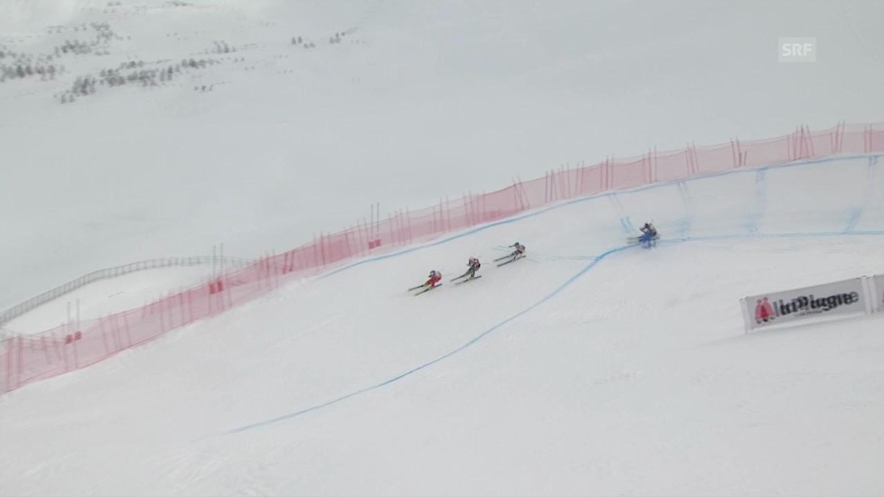 Skicross: Weltcup in La Plagne, Final Frauen