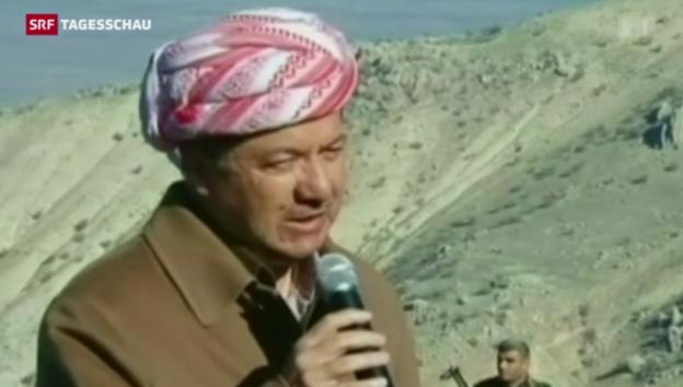 Video «Kurden erobern Gebiete vom IS zurück» abspielen