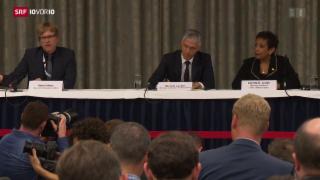 Video «Medienkonferenz zu Ermittlungen rund um die Fifa» abspielen