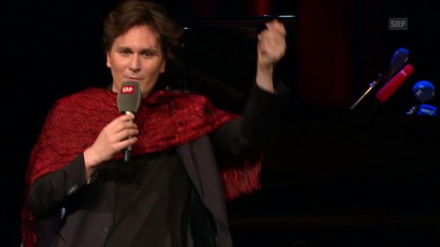 Video «Hosea Ratschiller beim Salzburger Stier 2017» abspielen