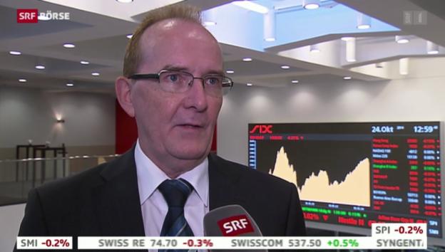 Video «SRF Börse vom 24.10.2014» abspielen