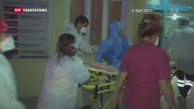 Video «Giftgasangriff in Syrien geklärt» abspielen