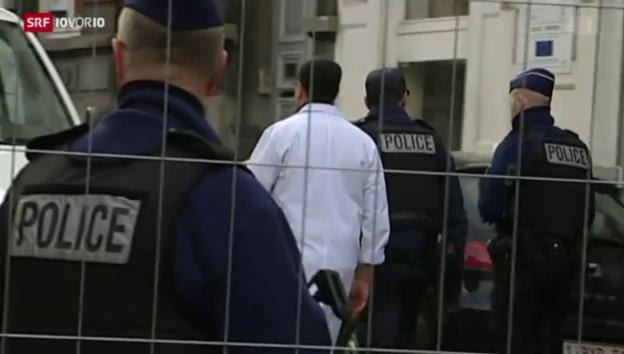 Video «Anti-Terror-Einsatz in Belgien: 13 Festnahmen» abspielen