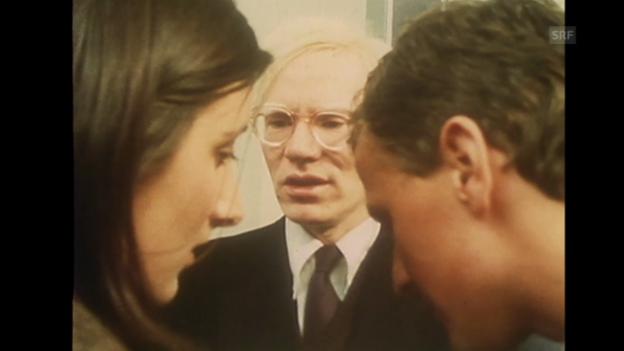Video «Warhol-Ausstellung (Monatsmagazin, 17.3.1976)» abspielen