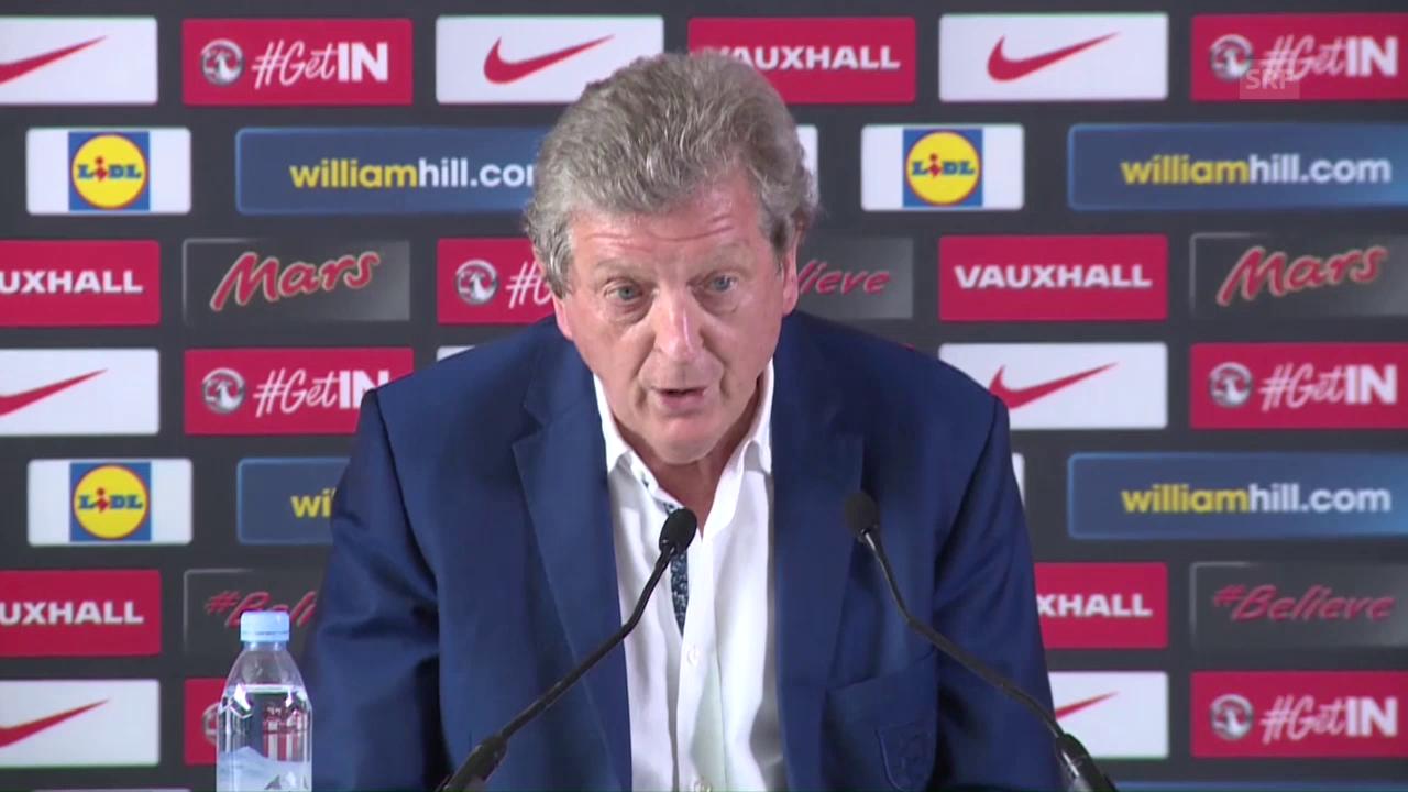 Hodgson: «Weiss nicht, was ich hier soll» (engl.)