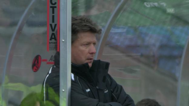 Video «Fussball: Super League, Lausanne - St. Gallen («sportlive», 23.02.2014)» abspielen
