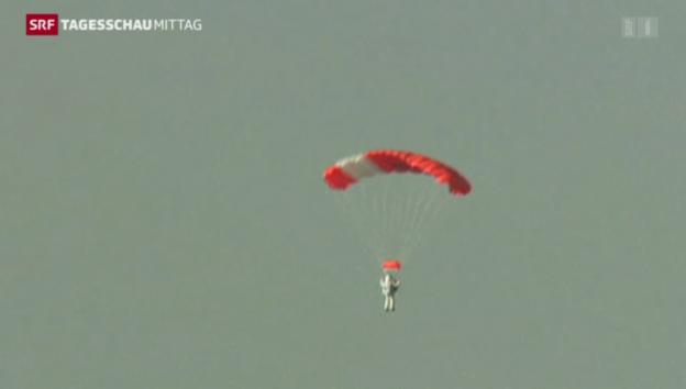 Video «Google-Manager knackt Höhenweltrekord» abspielen
