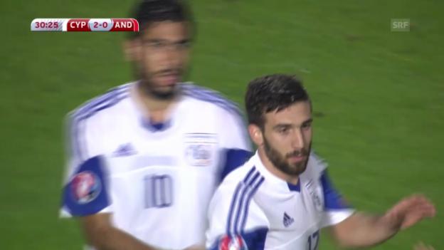 Video «Fussball: EM-Quali, Zypern-Andorra» abspielen