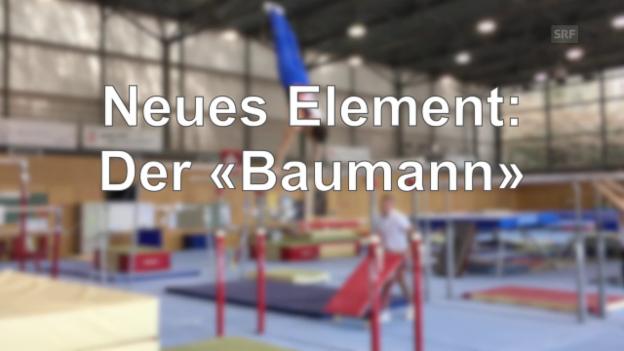 Video «Das neue Element von Christian Baumann» abspielen