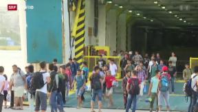 Video «FOKUS: Flüchtlinge kommen weiter» abspielen
