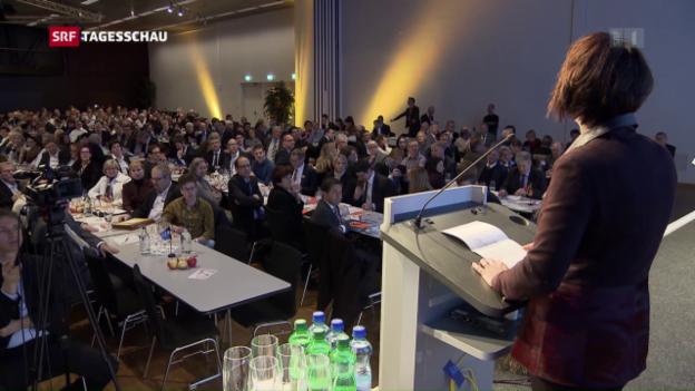 Video «CVP sagt Ja zur erleichterten Einbürgerung» abspielen