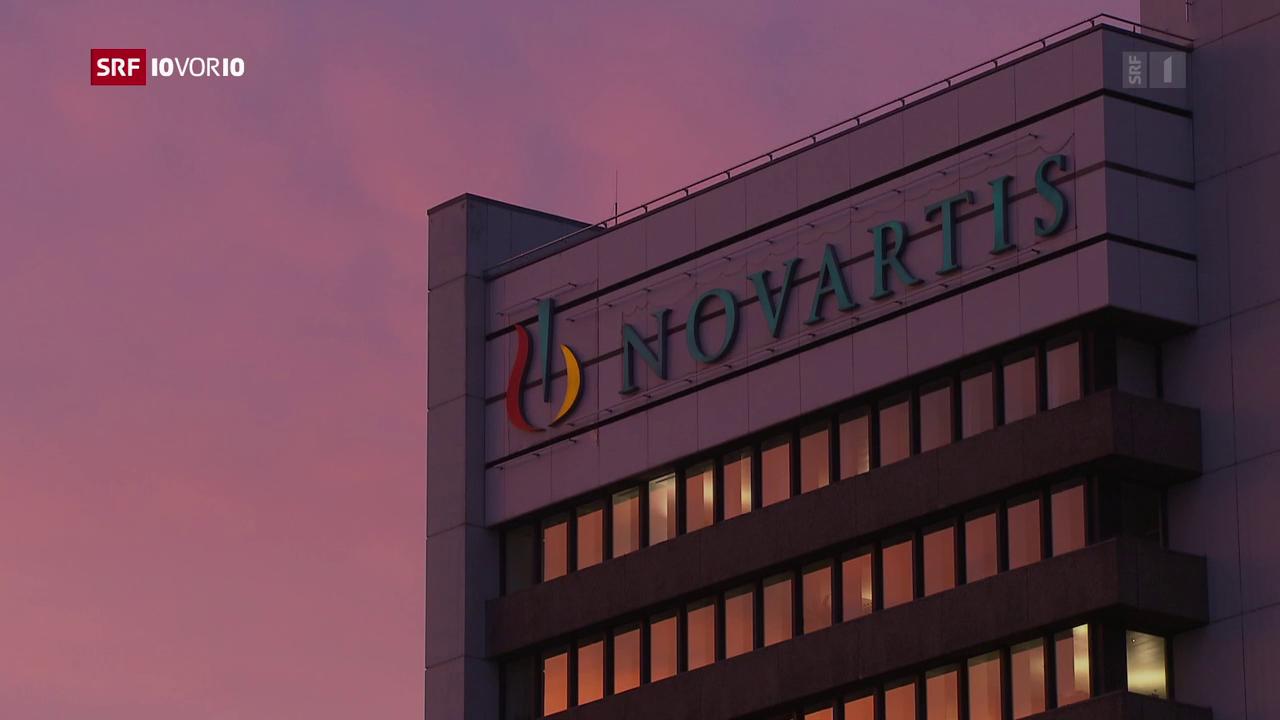 Novartis' schmierige Kontakte zu Michael Cohen
