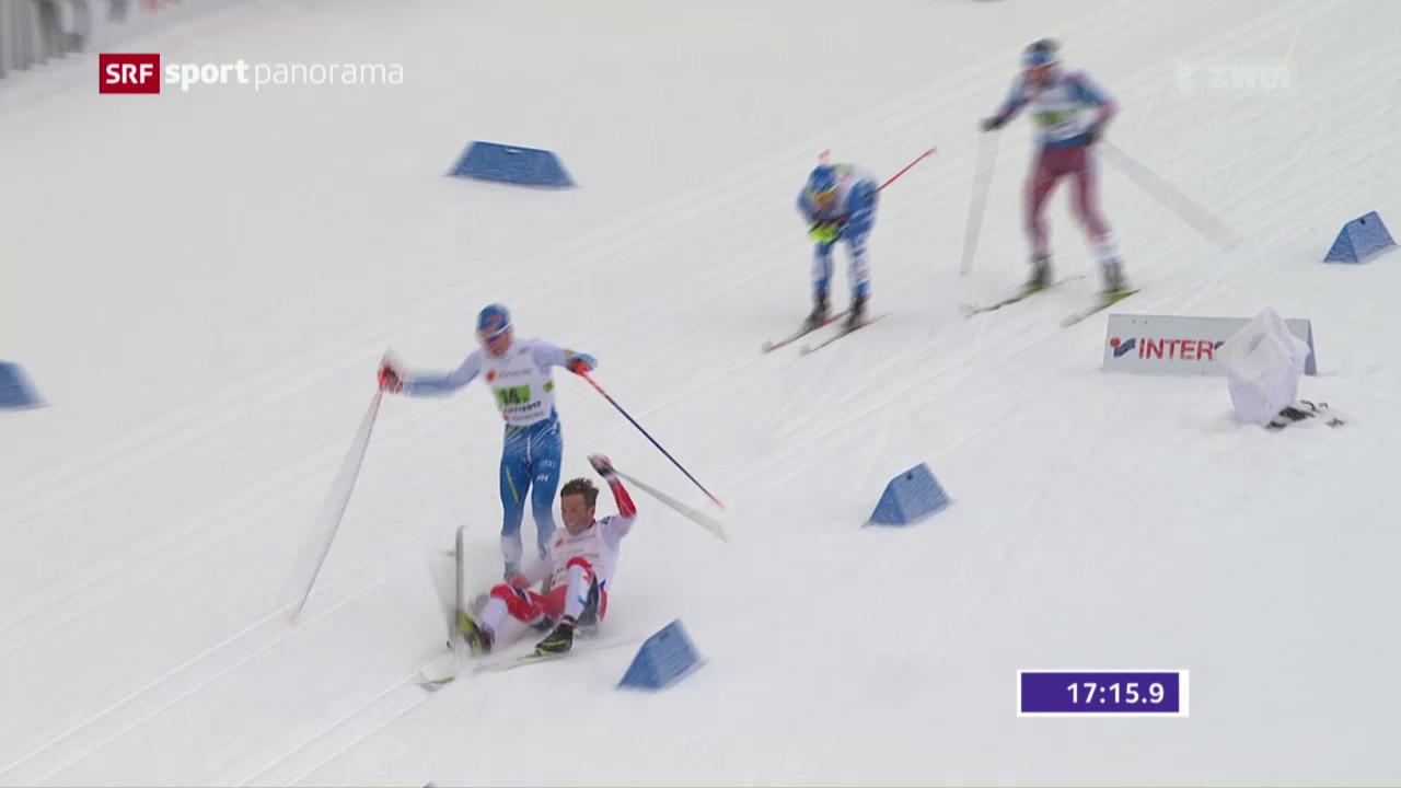 Folgenschwerer Crash von Niskanen – Schweizer Staffel chancenlos