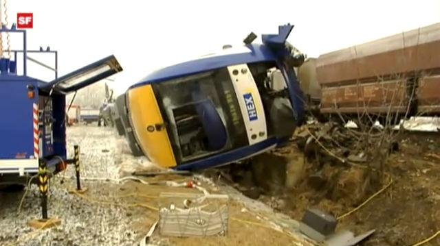Deutschland: 10 Tote bei Zugunglück