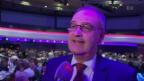 Video «Guy Parmelin: Der Bundesrat und Ex-Winzer an der Weinprämierung» abspielen