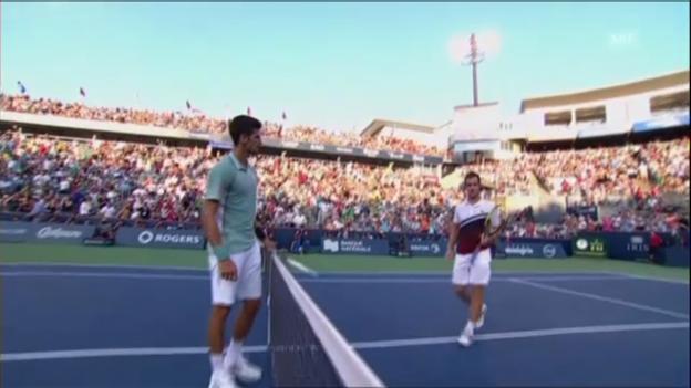 Video «Highlights Djokovic - Gasquet (unkommentiert)» abspielen