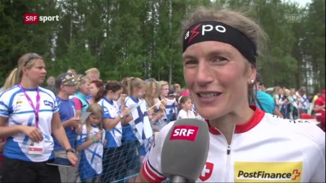 Interview mit Simone Niggli («sportaktuell»)
