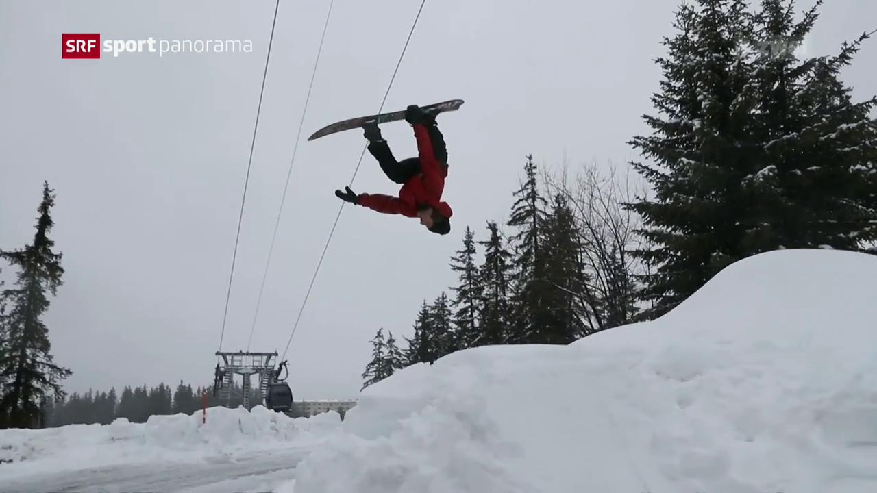 Snowboard-Cracks bringen sich in Crans in Olympia-Form