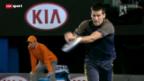 Video «Tennis: Djokovic und Sharapova souverän, Stosur bereits out» abspielen