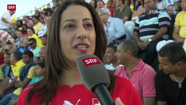 Video «WM: Öffentliches Training vom Sonntag» abspielen