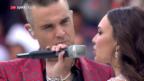 Video «Gute Stimmung bei der WM-Eröffnungsfeier» abspielen
