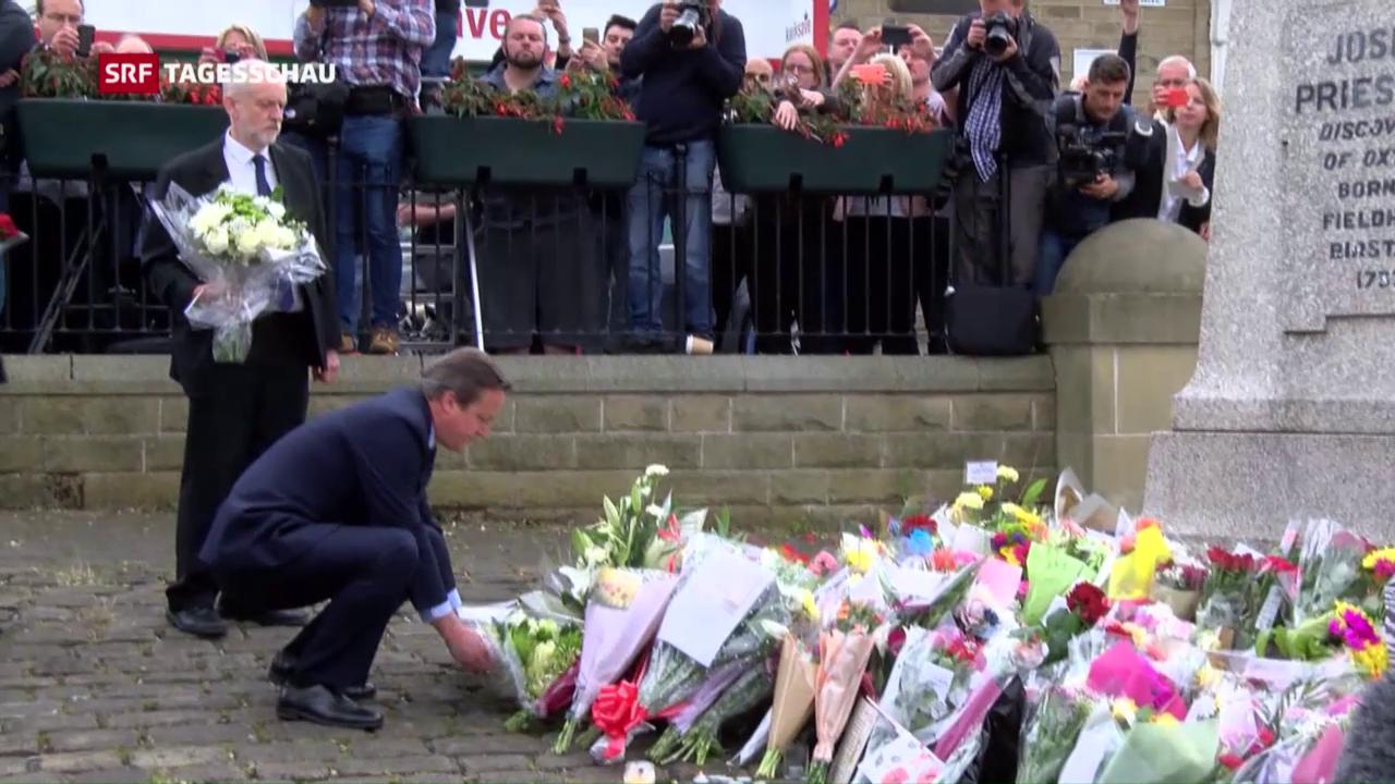Grossbritannien trauert um Jo Cox