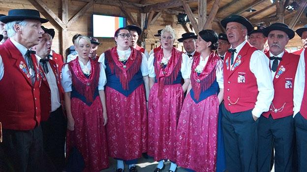 Jodlerklub Aletsch Naters: «En Melodie»
