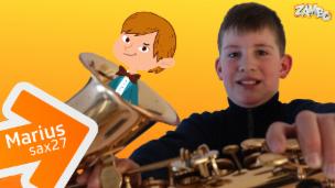 Video «Marius, der Saxophon-Profi» abspielen