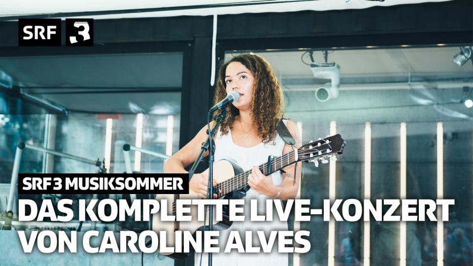 Die komplette Live-Session mit Caroline Alves