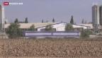 Video «Raketen treffen UNO-Schule im Gazastreifen» abspielen