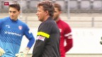 Video «Fussball: SL, Saibene neuer Trainer beim FC Thun» abspielen
