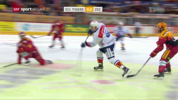 Video «Tigers verlieren erneut gegen den ZSC» abspielen