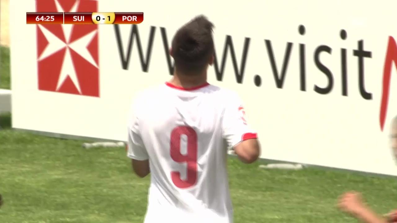 Fussball: U17-EM, Schweiz - Portugal