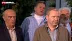 Video «Alt Bundesrat Merz singt spontan am Fernsehen.» abspielen