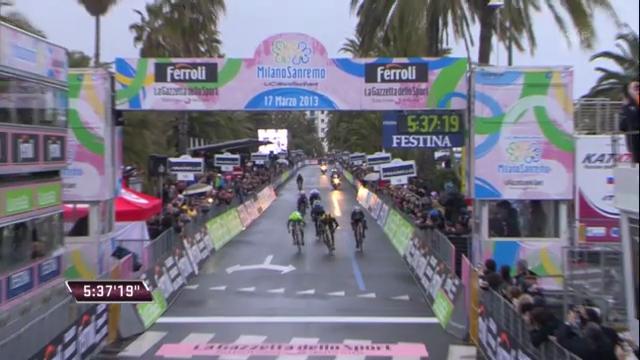 Rad: Die Schlussphase von Mailand-Sanremo («sportlive»)