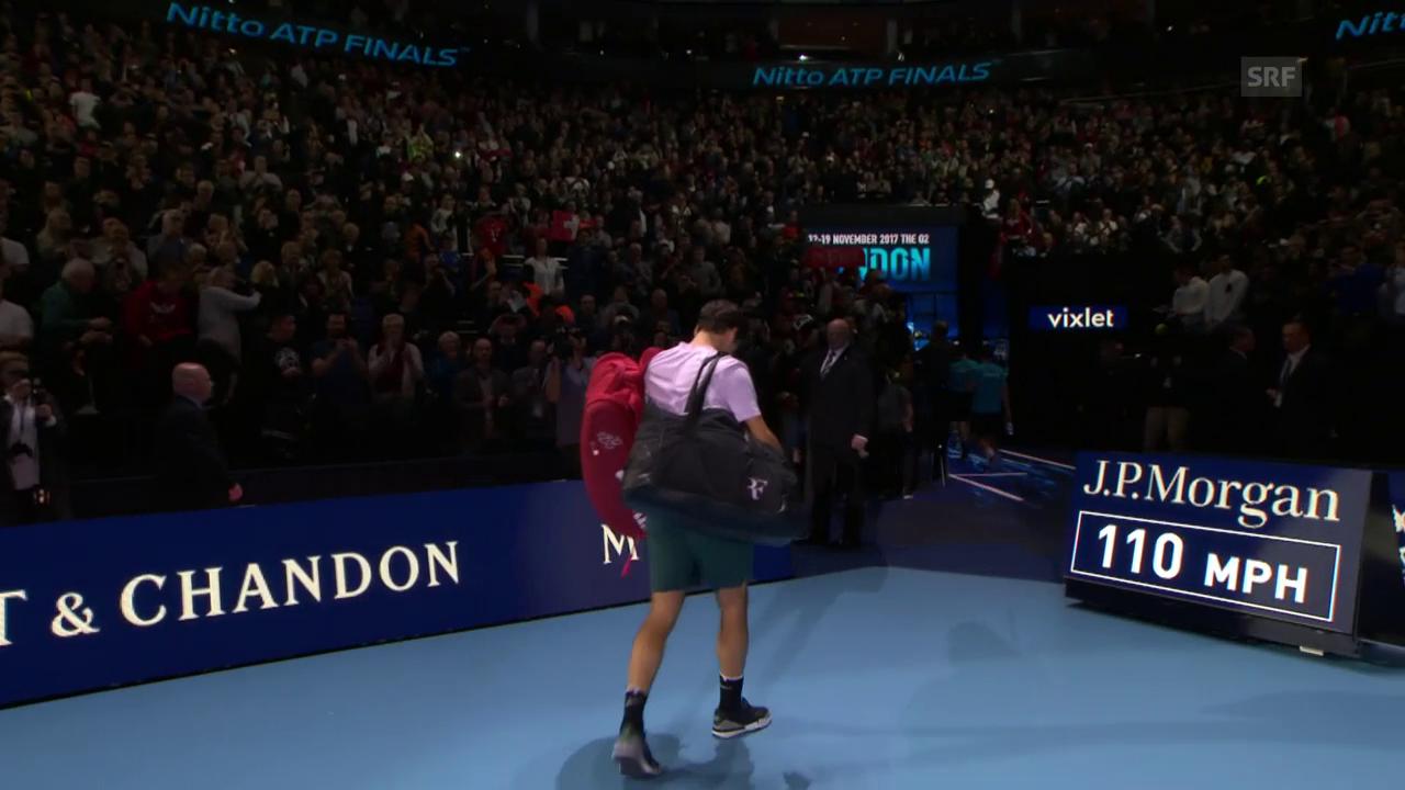 Federer scheitert überraschend an Goffin