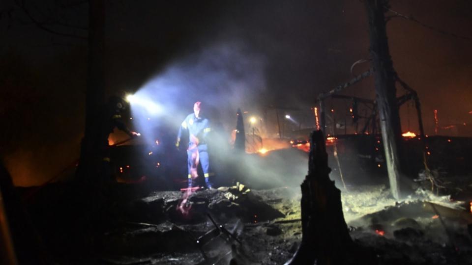 Griechenland: Feuer im Flüchtlingslager auf Insel Samos