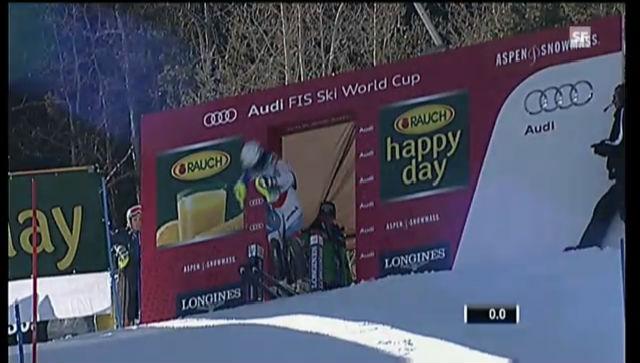 Ski: Slalom, 1. lauf Wendy Holdener («sportlive»)