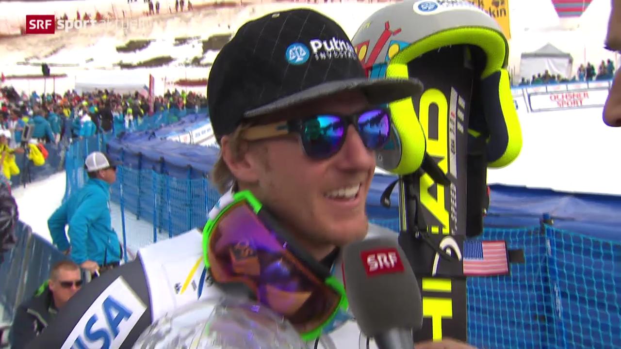 Ski: Riesenslalom Männer, Lenzerheide («sportaktuell»)