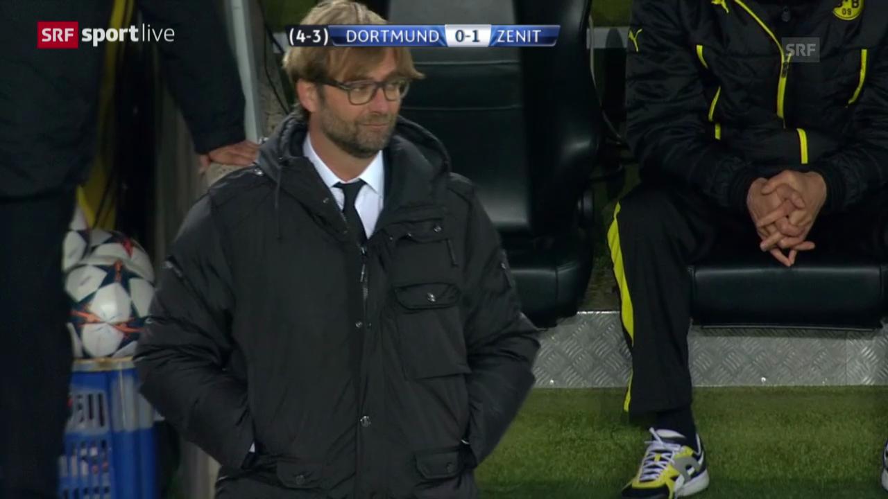 Zusammenfassung Dortmund-Zenit («sportlive»)