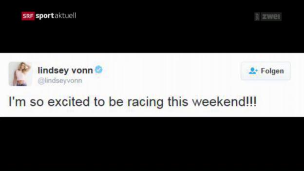 Video «Ski: Lindsey Vonn gibt ihr Comeback» abspielen