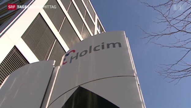 Video «Holcim überrascht mit Gewinnsteigerung» abspielen