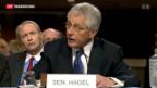 Video «Anhörung von Chuck Hagel» abspielen