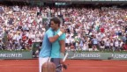 Video «Tennis: Highlights Nadal - Djokovic» abspielen