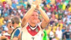 Video «WM 2014: Nur Traditions-Teams in den Halbfinals» abspielen