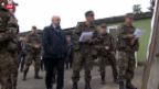 Video «Schweizer Armee baut ab» abspielen