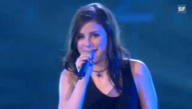 Video «Lena Meyer-Landrut mit «Satellite» als Gewinnerin des Eurovision Song Contest 2010» abspielen