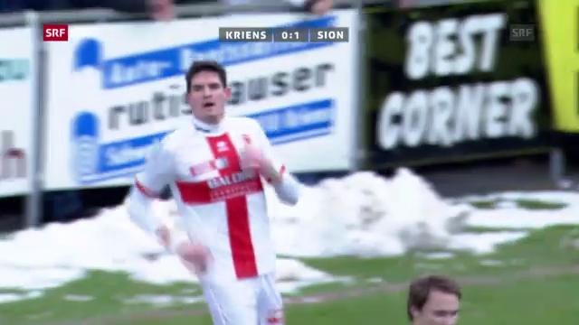 Fussball: Kriens - Sion («sportpanorama»)